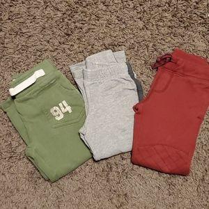 3 bundle sweatpants 3T